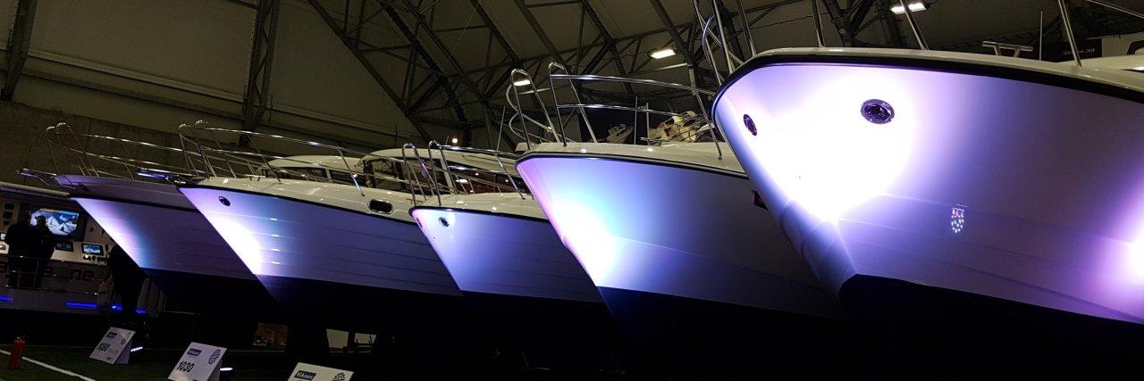 Viknes på båtmessen - et flott skue