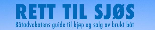 RETT TIL SJØS - Båtadvokatens e-bøker og kjøpekontrak