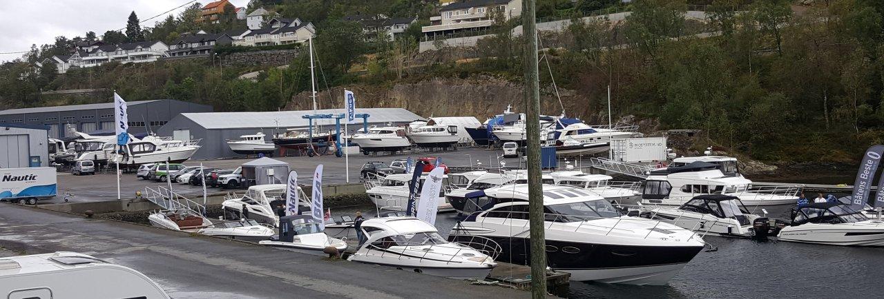 Lokal salgsmesse hos Viknes Båt