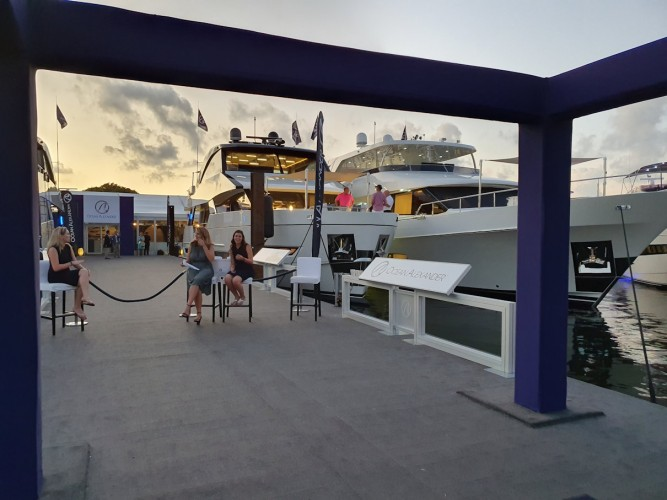 VIP-besøk hos Ocean Alexander